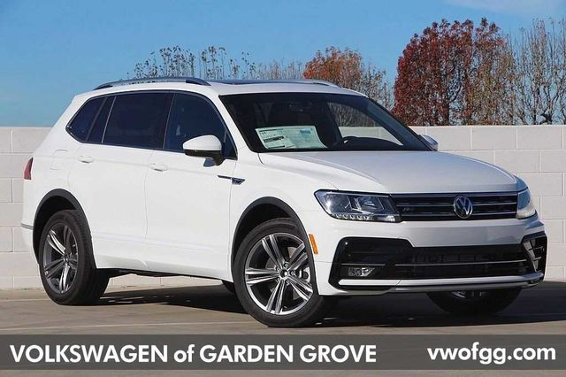 New 2019 Volkswagen Tiguan 2 0t 4motion Sel R Line Suv For Sale