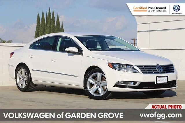 Certified Pre-Owned 2014 Volkswagen CC 2.0T Sport 4D Sedan