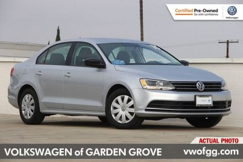 Certified Pre-Owned 2015 Volkswagen Jetta 2.0L S 4D Sedan