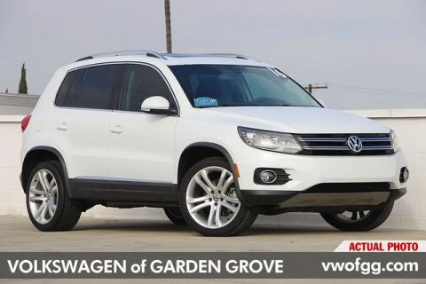 Pre-Owned 2016 Volkswagen Tiguan SEL 4D Sport Utility